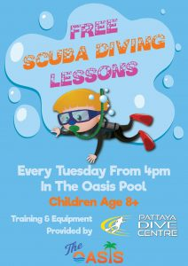 FREE SCUBA DIVING LESSONS @ The Oasis